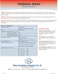 Bay Insulation Supply Thermal-Wrap Fiberglass Pipe and Tank Wrap.pdf