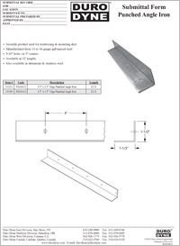 Duro Dyne Punched Angle Iron Submittal.pdf