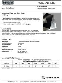 Sound Seal B-10 Lag Industrial Flexible Noise Barriers.pdf