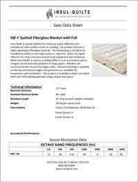Insul-Quilts IQF-F Quilted Fiberglass Blanket with Foil.pdf